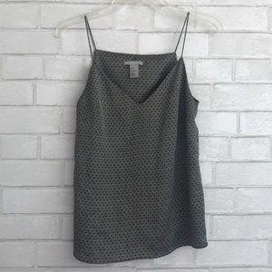H&M V Neck Geometric Print Blouse